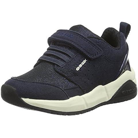 Geox J Hideaki Girl D, Zapatillas para Niñas