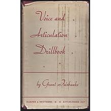 VOICE AND ARTICULATION DRILLBOOK.