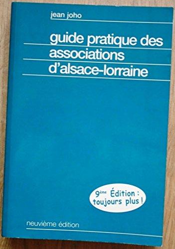 Guide pratique des associations d'Alsace-Lorraine