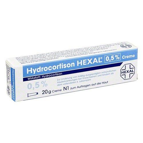 HYDROCORTISON HEXAL 0,5% Cre 20 g Creme