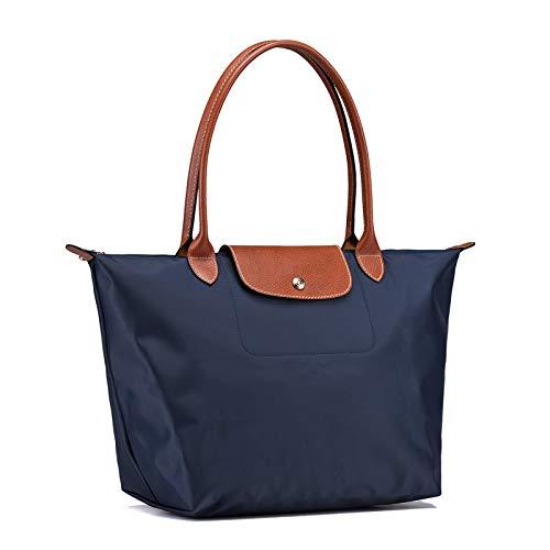 58b3e117304edc longchamps_ Pliage Sacchetto Donna Tote Bag Borsa tote manici piegatura  (Blu navy)