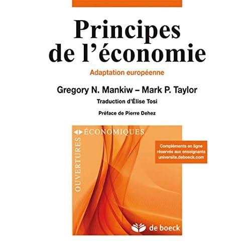 Principes de l'économie : Adaptation européenne