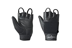 Globaleather Standard Wheelchair Gloves - Black - Large