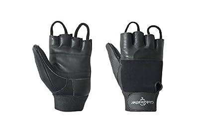Globaleather Standard Wheelchair Gloves - Black - Large