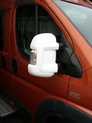 Milenco Van Miroir Protection - Blanc - pour Fiat Ducato/Peugeot Boxer/Citroen Relay