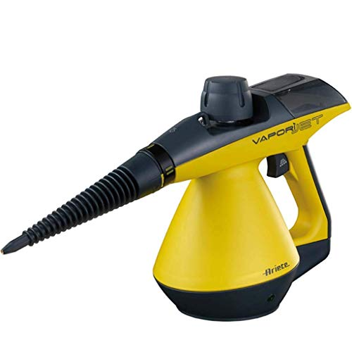 JJZQQJQ Dampfreiniger Handheld 3.5 Multi-Purpose Teppich Hochdruck Chemical Free 9-teiliges Zubehör, entfernt Flecken, Vorhänge, Autositze, Fußböden, Fensterreinigung