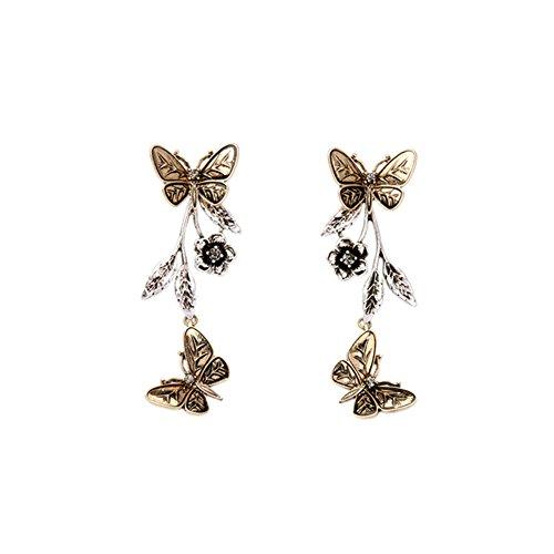 schöne Elegante Kreative Fresh Anhänger Schmetterling Damen Ohrringe für Frauen Mädchen ()