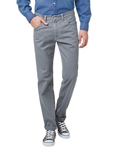 Gabardine Stretch Hose (Pioneer Herren Weites Bein Hosen RANDO, Gr. W44/L34, Grey (Grey 30))