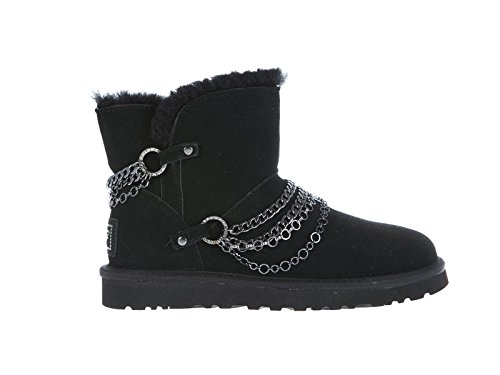 Ugg-Australia-Reese-Womens-Sheepskin-Winter-Ankle-Boots-With-Chain-And-Rivets-1010853
