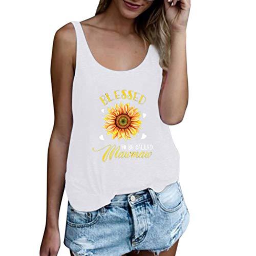 Femme Frühling und Sommer T-Shirt,Rifuli® Plus Size Print Shirt Kurzarm T-Shirt Bluse TopsTops Blusen Tuniken Bekleidung Damen