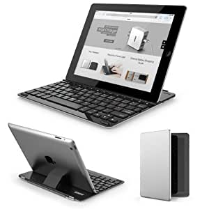Anker® TC940 Ultra-Thin Keyboard Cover for iPad 4 / 3 / 2 - Smart Cover and Built-in 800mAh Lithium Battery