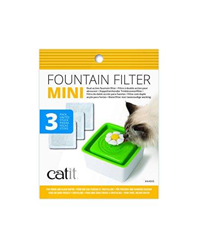 Catit Mini Flower Füllfederhalter Ersatz Filter, 3Stück