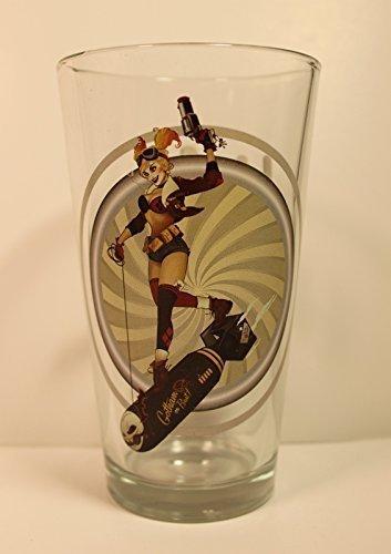 Harley Quinn 1DC Bombe Reihe 'Toon Tumbler 16Oz Pint Glas von Toon Tumbler