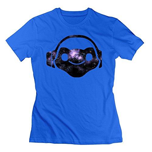 Nana-Custom Tees -  T-shirt - Donna blu M