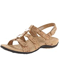 Vionic Womens 44 Rest Amber Synthetic Sandals