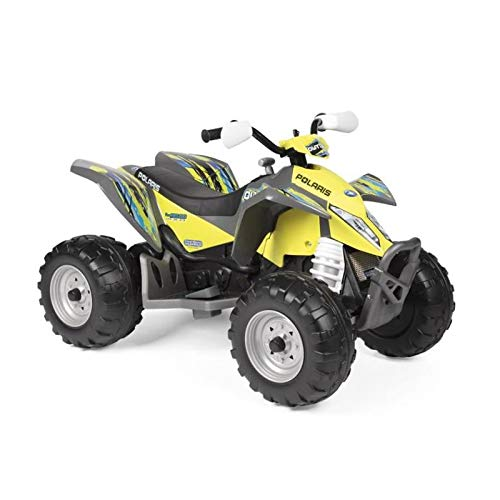 Peg Perego - Quad Polaris Outlaw Citrus, igor0090 (Polaris Atv 12volt)