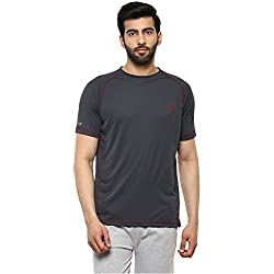 Proline Mens Solid Regular Fit Active Base Layer Shirt (PA019_De_X-Large)