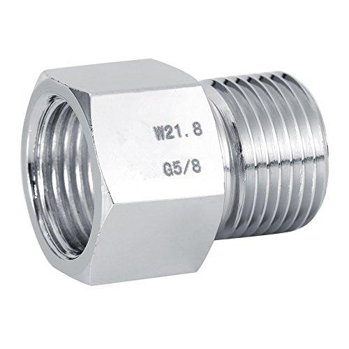 Konverter-Anschluss, Zylinder-Adapter für CO2-Regler im Aquarium, Ausrüstung für Fischbehälter in 4 Größen erhältlich. W21.8 à G5/8