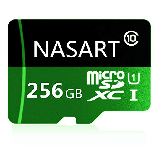 Tarjeta de Memoria TF de 128 GB/256 GB/400 GB Micro SD SDXC, Tarjeta de Memoria de Alta Velocidad Clase 10 con Adaptador SD 256 GB