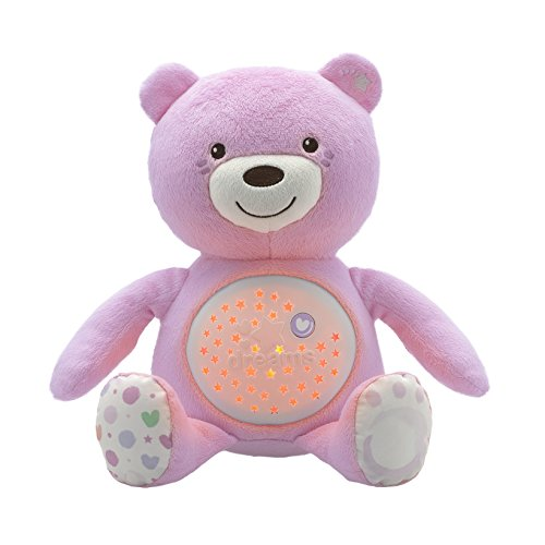 Chicco - 8015100000 - Ourson Projecteur Baby Bear - Rose