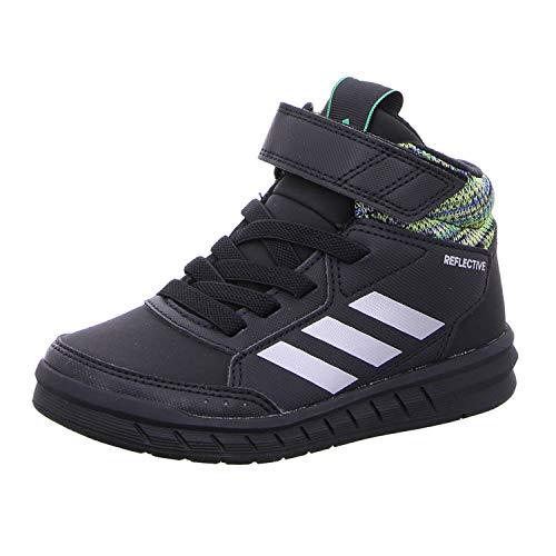 Adidas altasport mid btw k, scarpe da fitness unisex-bambini, blu (azul/refsil/negbás 0), 33 eu