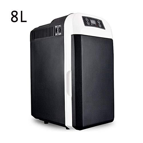 Gas-single Kühlschrank (DXDCV Mini Kühlschrank Kühler und Wärmer, Kleinwagen Kühlschrank Single Door Car Home Dual-UsePortable Thermoelektrisches System (Color : Black))