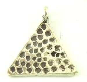 Chic-Net pendentif en argent tribus montagnardes points de triangle estampillé pendentif en argent sterling 925 femmes bijoux