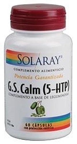 G.S. Calm (5-Htp ) 60 cápsulas de 50 mg. de Solaray