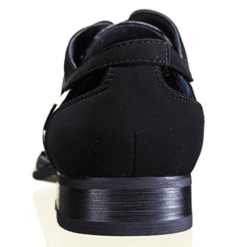 Reservoir Shoes - Chaussure Derbies Paul Black Patent Noir