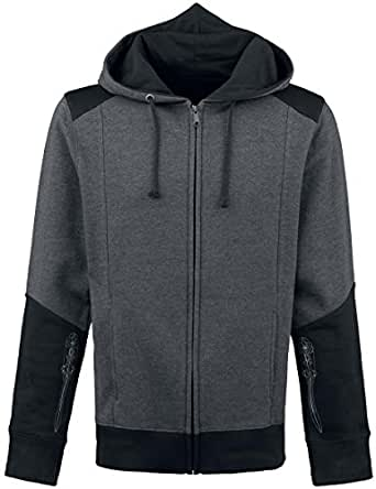 Assassins Creed 4 Hoodie -S-, Black Grey Character [import allemand]