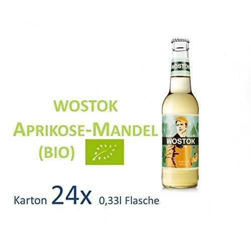 Mandeln Aprikosen (24*Wostok Aprikose-Mandel BIO 33cl)