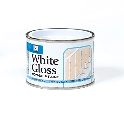 Swan household ® -COATINGS PAINT 180ML GLOSS MATT PRIMER METALLIC RED GOLD SILVER BLACK WHITE for all purpose use (White Non-Drip Gloss Paint adheres to both interior and exterior surfaces of materials such as wood, metal and concrete leaving a high gloss