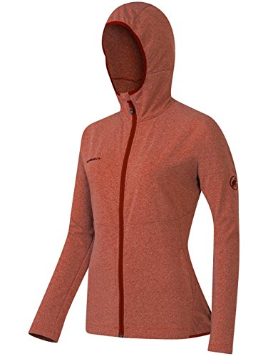 Mammut Luina ML Hooded Women's Jacket maroon melange