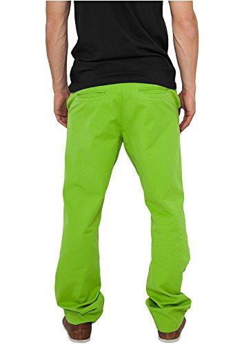 Urban Classics Chino Pants, Pantaloni Uomo Verde (Limegreen 00146)