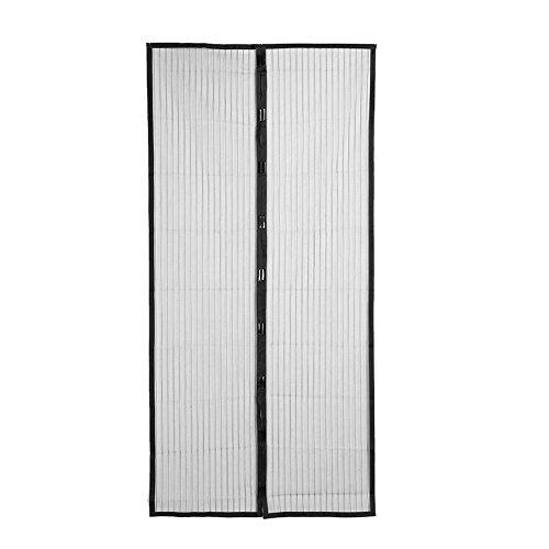Demiawaking zanzariera magnetica per porte tende a rete zanzariere tenda porta anti insetti antizanzariera di chiusura automatica (110x210cm)