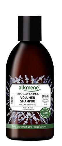 alkmene Volumen Shampoo mit Bio Lavendel, für feines und plattes Haar, 250 ml - 2er Pack (2 x 250 ml)