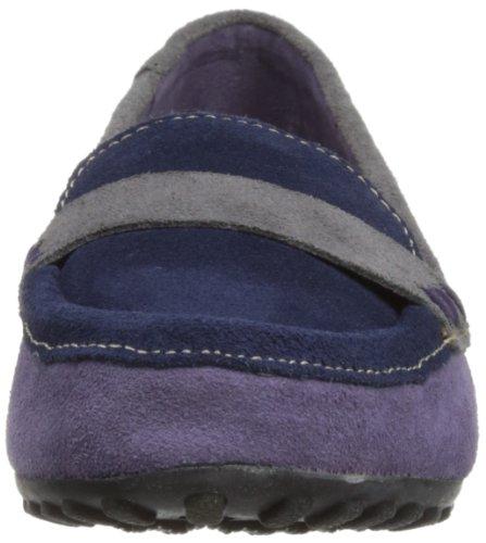 Hush Puppies Dalby Mocc, Chaussures À Lacets Pour Femmes Multicolore (marine Multi)