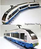 Elektrisch Express Zug Set / Stadt Bahnhof Creator 11pcs Schienen #25903