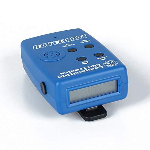LeoboodeCompetition Electronics Pocket Pro II Shot Timer with Sensor Buzzer Beeper Hunter Training Shooting Timer Speed Measures -