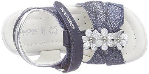 Geox B Verred B, Chaussures Marche Bébé Fille Blau (NAVY/SILVERC0673)