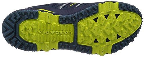 Brooks Cascadia 10 M, Chaussures de Running Compétition Homme Midnight/Sulphur Spring