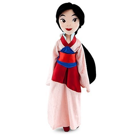 Disney Store Princess Mulan Plush Rag Doll 20