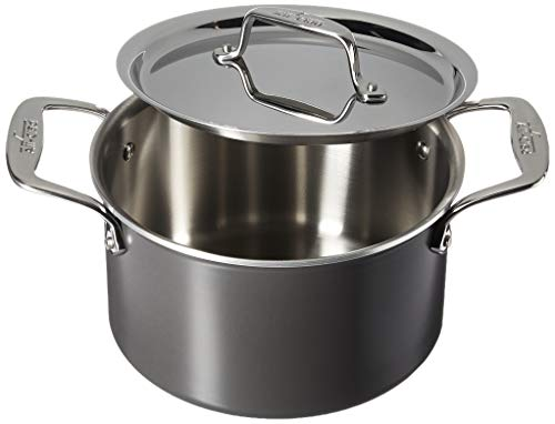 All-Clad 8701005445 LTD Cookware Suppentopf, 4Qt, Schwarz