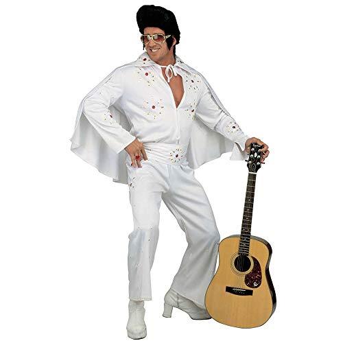 Widmann - Erwachsenenkostüm König des Rock ´n´ Roll Deluxe Elvis Presley Jumpsuit