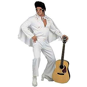 WIDMANN 3133E - Disfraz de rey de la falda para adulto, para hombre, color blanco, talla XL