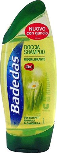 6x Badedas ducha shampoo riequilibrante 2en 1250ml