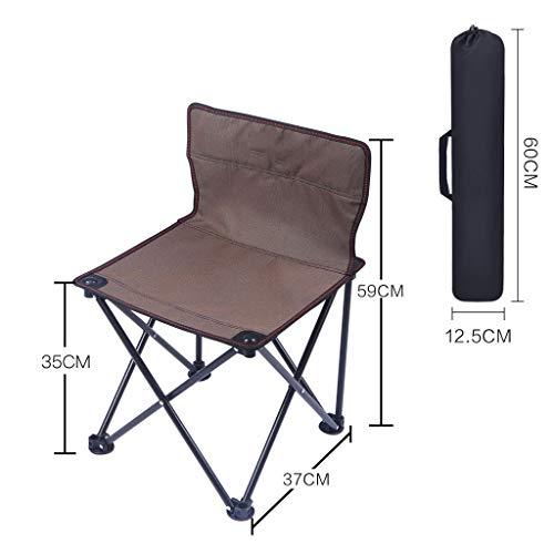 CAOYU Im Freien tragbarer Klappstuhl Hocker Camping Strand Stuhl Angeln Stuhl Hocker Tisch und Stuhl...