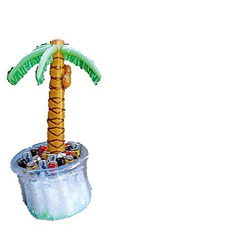 Raffreddatore per bevande, gonfiabile, a forma di palma