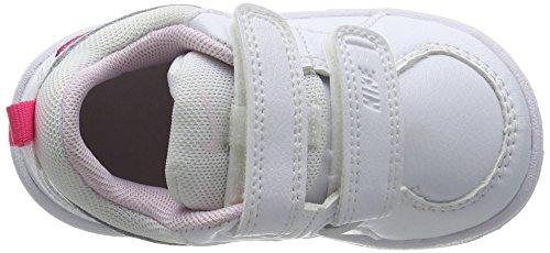 Nike Pico 4 Tdv, Chaussures Marche Bébé Fille, 27 EU Blanc (White/Prism Pink Spark)