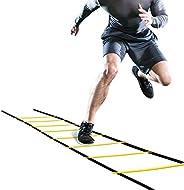 bxtbest-seller 4m Speed Ladder Agility Ladder, Adjustable Football Agility Ladder for Fast Footwork Training
